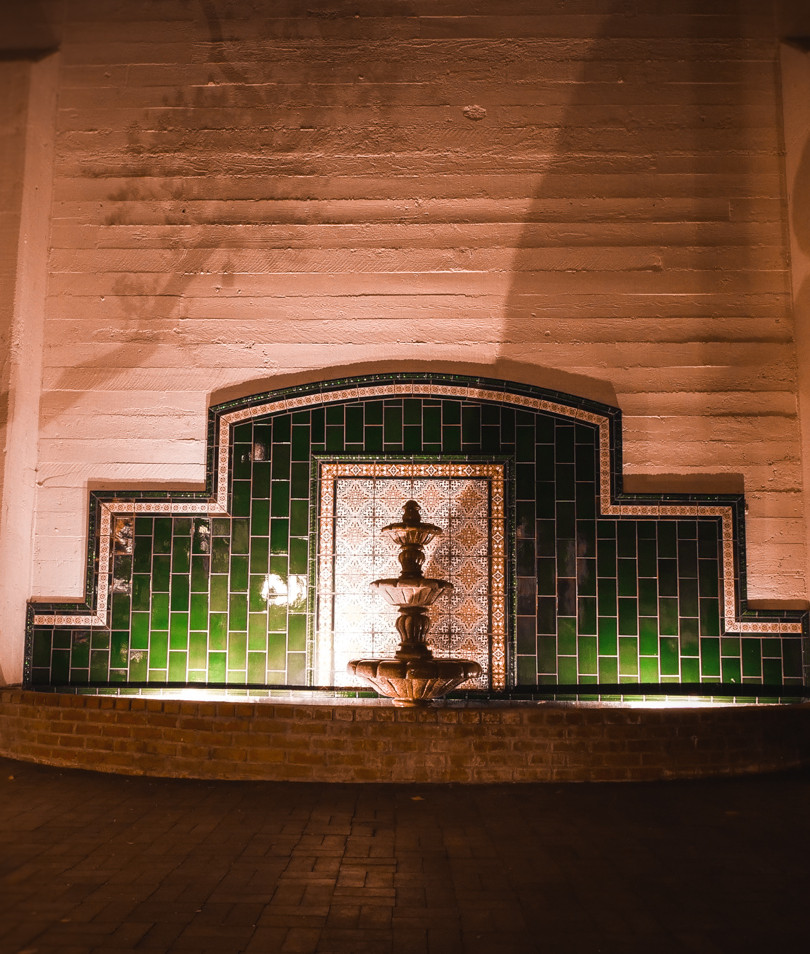 Fountain Courtyard NIGHT