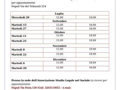 Sportello Legale per il Terzo Settore a casa Meridonare (martedì 6 dicembre dalle 15.00 alle 18.00)