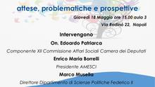 """Seminario su """"La riforma del Terzo Settore. Attese, problematiche e prospettive"""""""