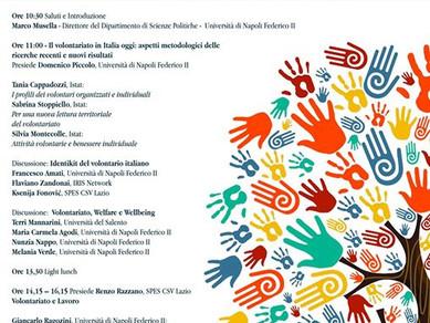 Giornata di lavori dedicata al volontariato (27 marzo)