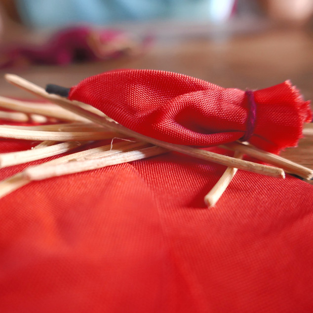 Fabrication du parapluie