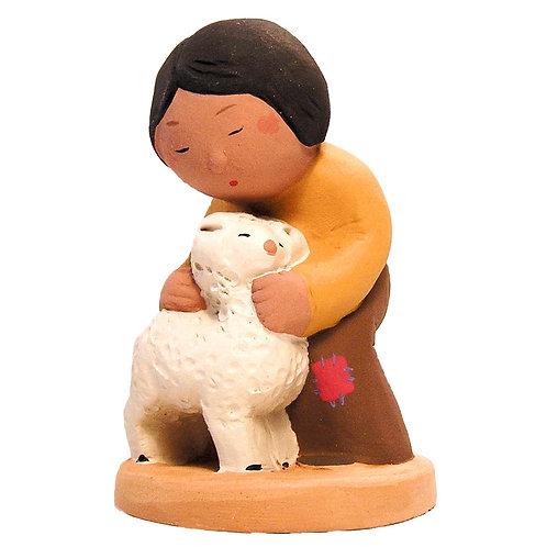 Enfant au mouton