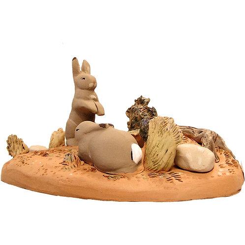 Scénette lapins