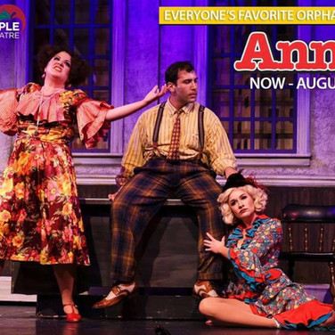 Miss Hannigan in ANNIE