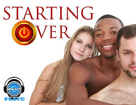 Starting over podcast play card 11 x 8.5