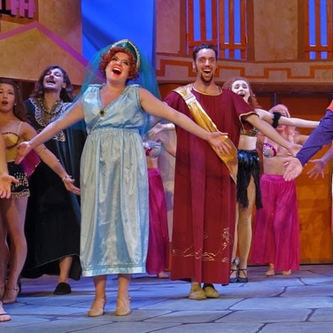 Domina in A FUNNY THING HAPPENED ON THE WAY TO THE FORUM