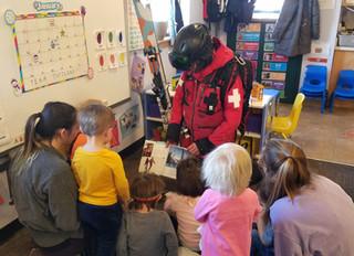 Ski Patrol Visit