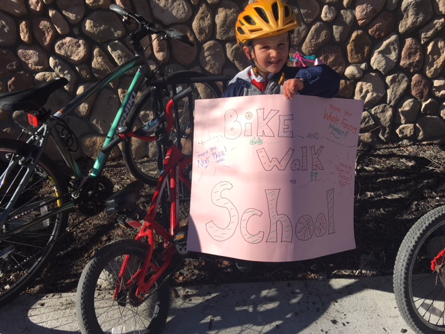 Nico with Thank You sign