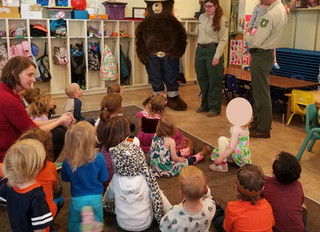Smokey the Bear Visit