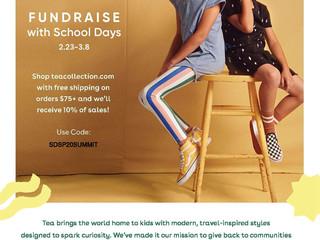Tea Clothing Fundraiser