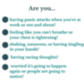 Are you ... _ Having Panic attacks at wo