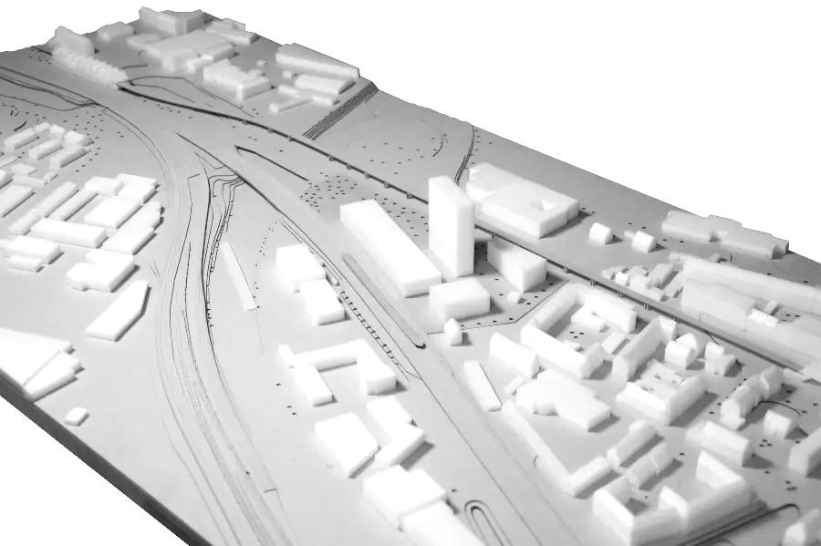 Städtebau - Metrozone