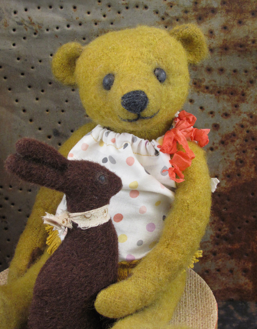 "No.2, a Potbelly Bears ""Old Timer"" by Shelli Makes"