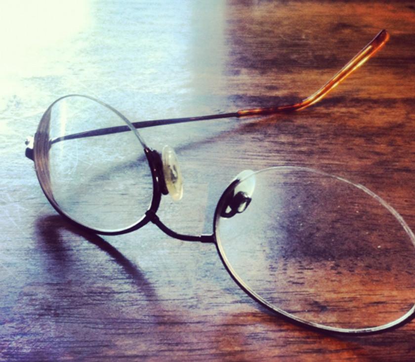 Tim's glasses