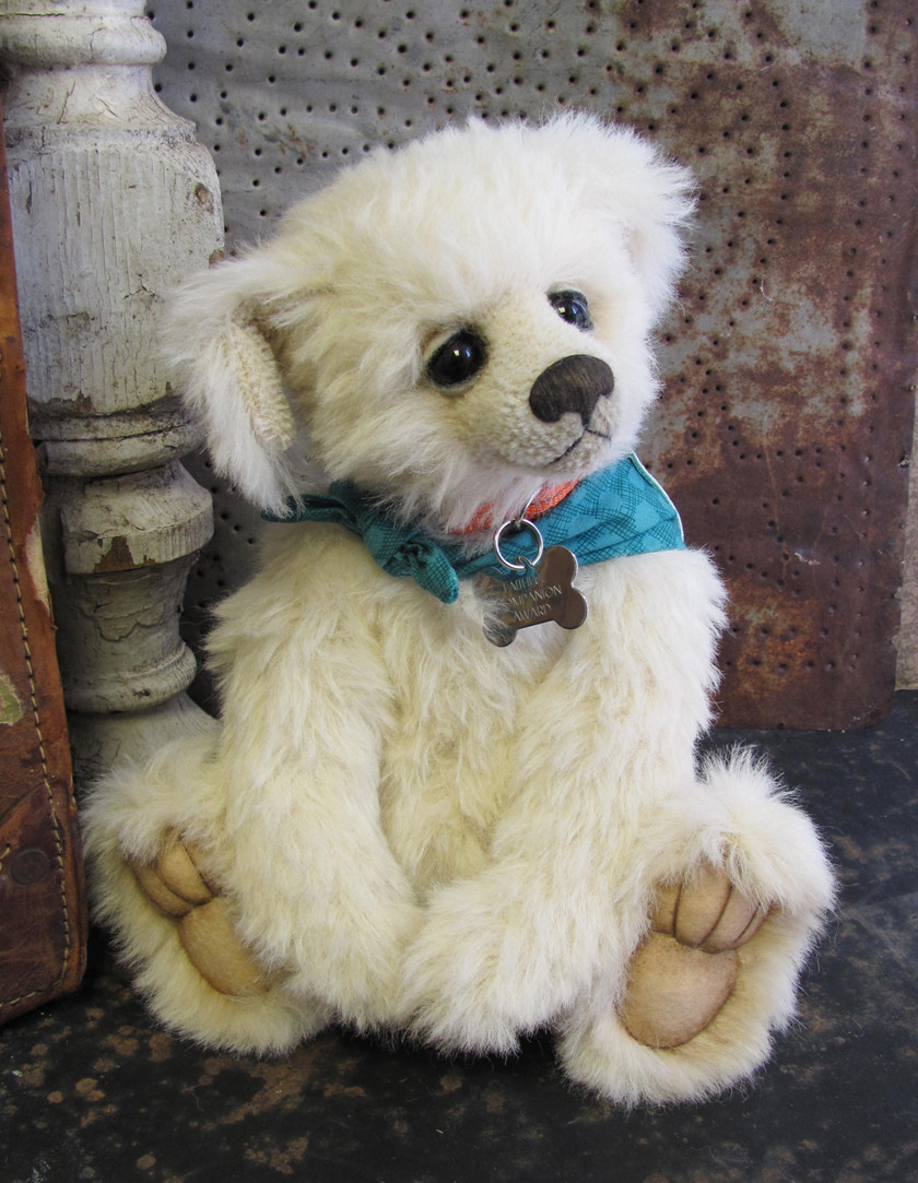Faithful, a dog from Potbelly Bears by Shelli Makes