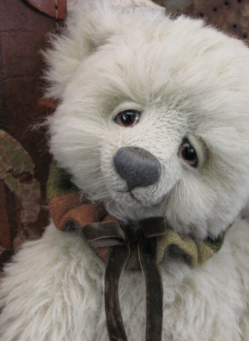 Lucky, a Potbelly Bear by Shelli Quinn of Shelli Makes