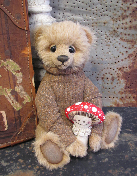 Walden & Cappy, a Potbelly Bear (and friend) by Shelli Makes