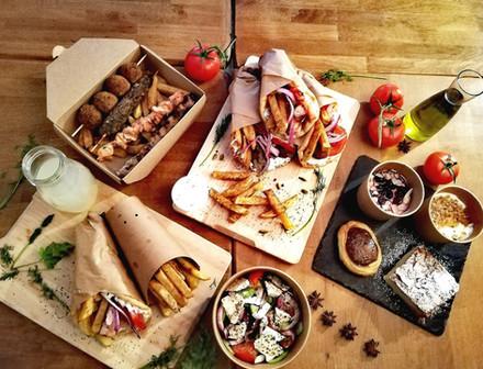 Kefi Streetfood restaurant Lyon Grec