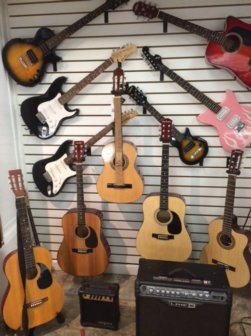 Electric & Acoustic Guitars
