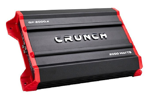 Crunch 2000 Watts Ground Pounder Four Channel Car Audio Amplifier
