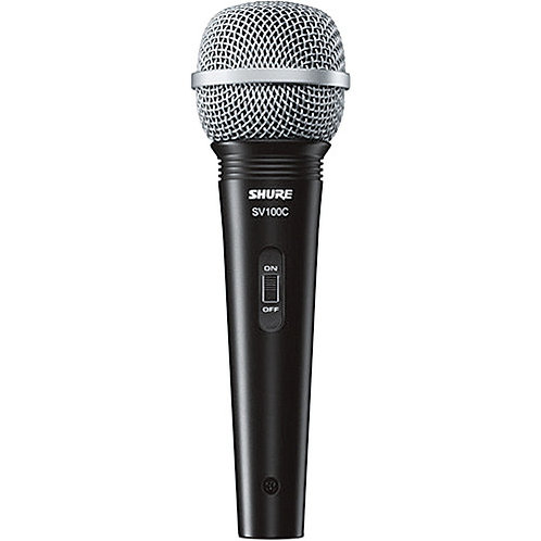 Shure SV100-W Dynamic Cardioid Handheld Microphone (Call for price)
