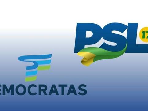 PSL e DEM disputam controle de novo partido que será gerado a partir de fusão