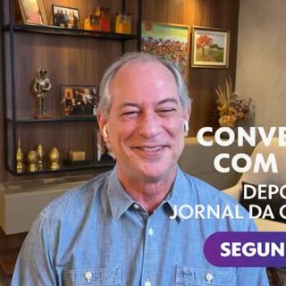 Participação de Ciro Gomes no Conversa com Bial movimenta redes sociais