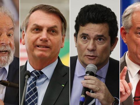 Eleições 2022: pesquisa CNT mostra Lula 15 pontos a frente de Bolsonaro em cenário estimulado