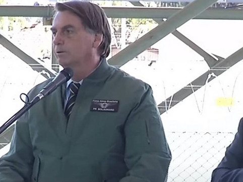 """""""Não vão nos tirar daqui"""", diz Bolsonaro sem citar senadores da CPI da COVID"""