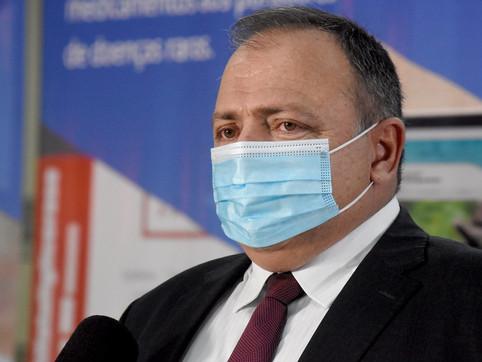 MPF confirma que gestão de Pazuello foi gravemente ineficiente e dolosamente desleal