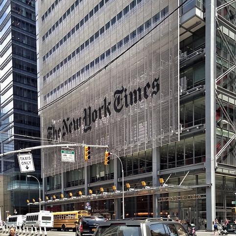 Colapso brasileiro é destaque no NYT exatamente um ano após país fechar suas fronteiras