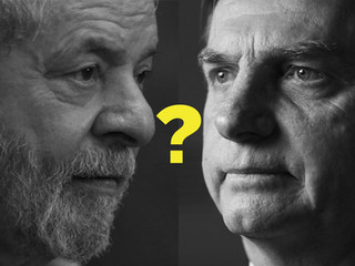 Bolsonaro, Lula e o acirramento político