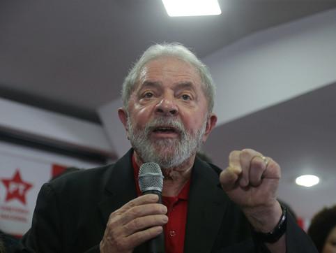 Lula: quer que eu passe o bastão, corra mais do que eu