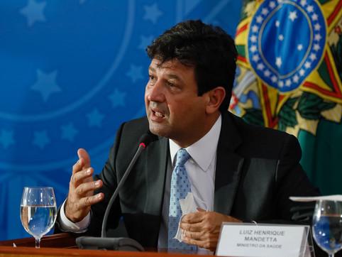 Ex-ministro Mandetta é cotado para ser o 1º convocado da CPI da Covid-19