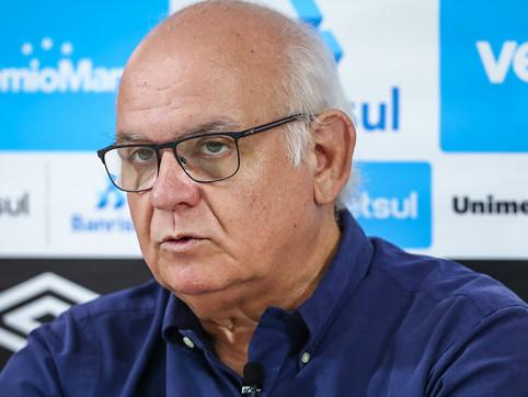 Bolzan é especulado como governador e diz não ter intenção de concorrer enquanto estiver no Grêmio