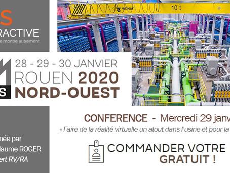 CONFÉRENCE : Maintenance et Industrie 4.0 au salon SEPEM Rouen !