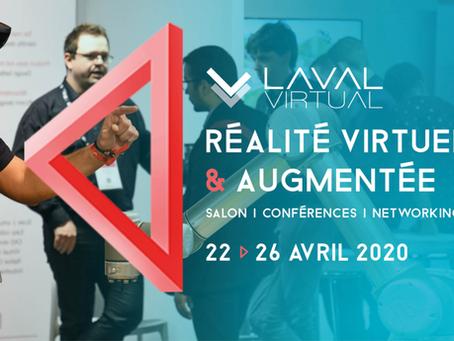 Laval Virtual : venez découvrir le meilleur de la VR/AR du 22 au 24 avril 2020 !