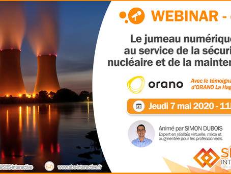 [WEBINAR] Le jumeau numérique au service de la sécurité nucléaire & de la maintenance - 07/05