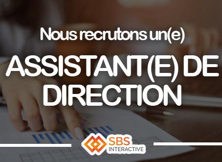 SBS recherche un Assistant(e) de Direction !