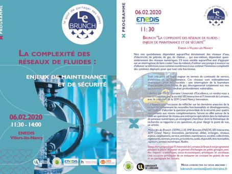 Inscrivez-vous au prochain événement Le Brunch du 06 février 2020 !