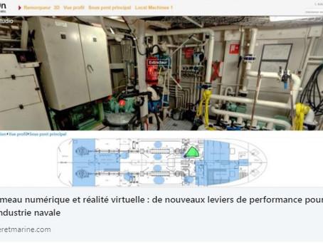 Jumeau numérique et réalité virtuelle : de nouveaux leviers de performance pour l'industrie navale