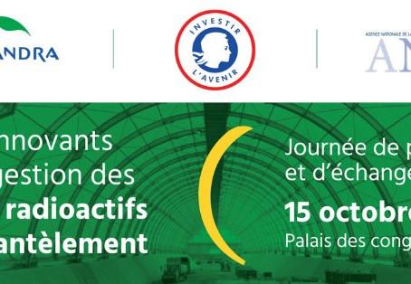 Retrouvez-nous le 15 octobre à Saclay pour échanger autour de la gestion des déchets radioactifs !