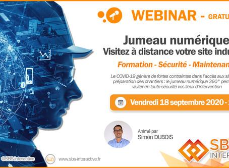 Jumeau numérique: visitez à distance votre site industriel