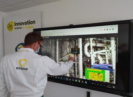 SBS Interactive numérise entièrement l'usine Orano la Hague