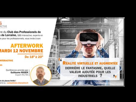 Conférence du Club des Professionnels de l'Innovation de Lorraine : mardi 12 novembre !