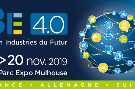 Salon BE 4.0 Industries du futur les 19 et 20 novembre 2019 : on y sera !