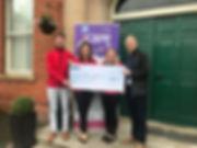 Armagh City kRJ Cheque Presentation 2019