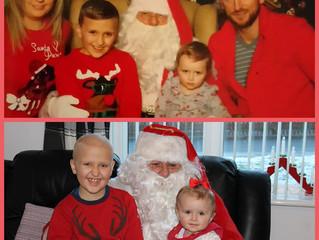 Santa Grants Wish for Special Little Boy