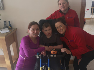 iCare were absolutely delighted to be able to purchase a brand-new Freedom Trike
