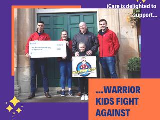 Proud sponsor of 'Warrior Kid's- Fight Against Leukaemia'